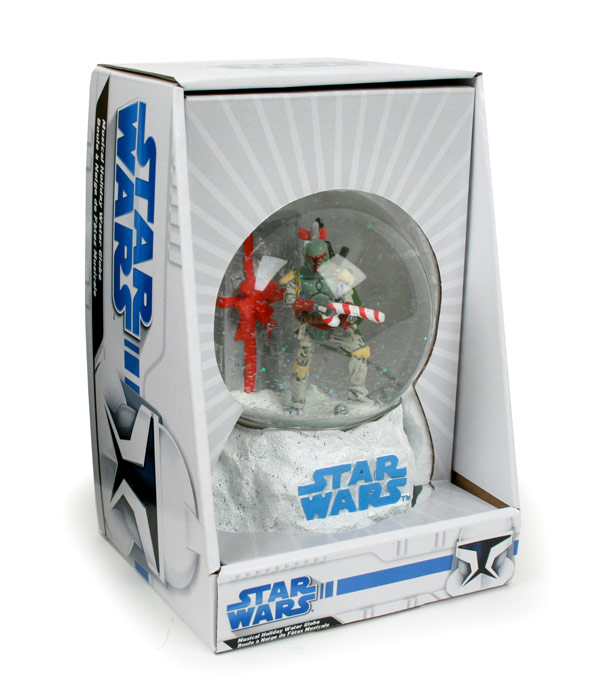 Star Wars Boba Fett Globe Photo by Stefan Aronsen
